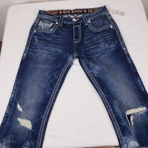 Rock Revival Yitro Straight jeans size 34